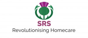SRS Care Solutions Logo Thistle